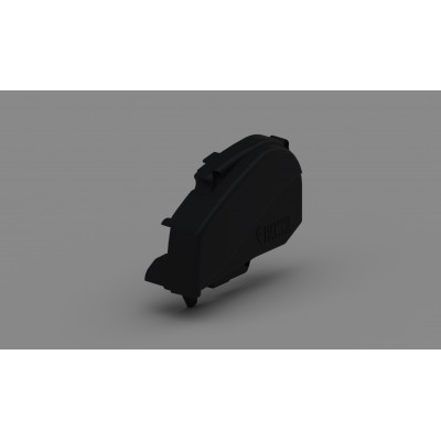 RIGHT WINCH COVER F80S BLACK