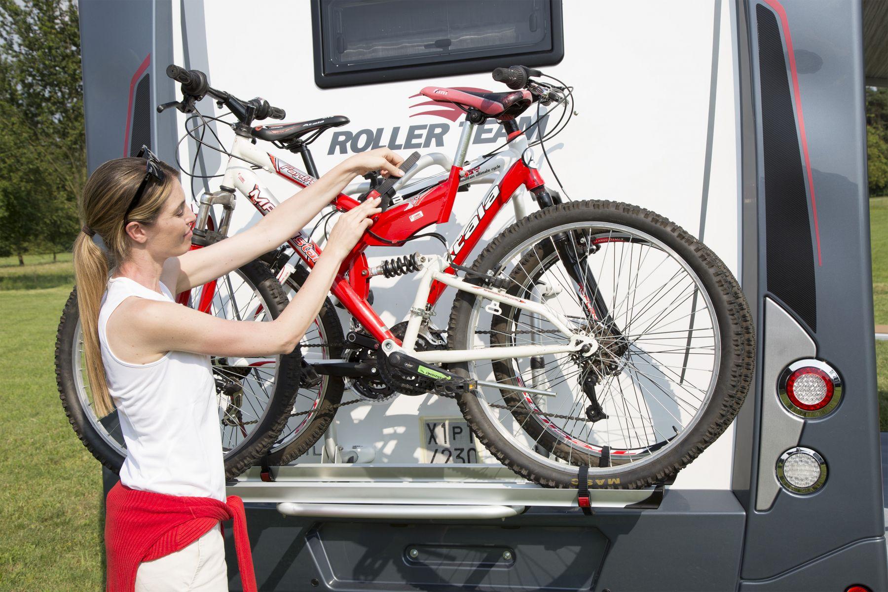 Fiamma Bike Block Pro 4 Blocking System for Bikes