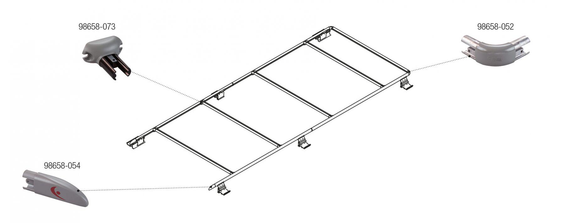 Roof Rail Promaster