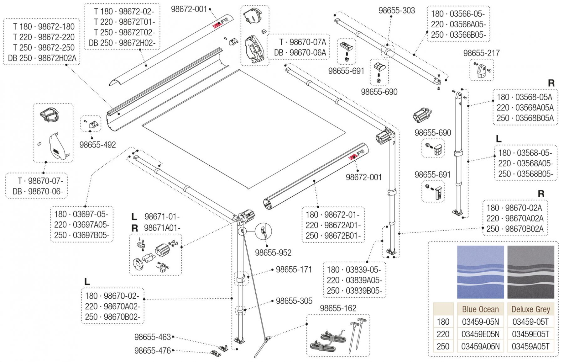 F35 Pro Titanium 180-250 - Deep Black 250 Version 013